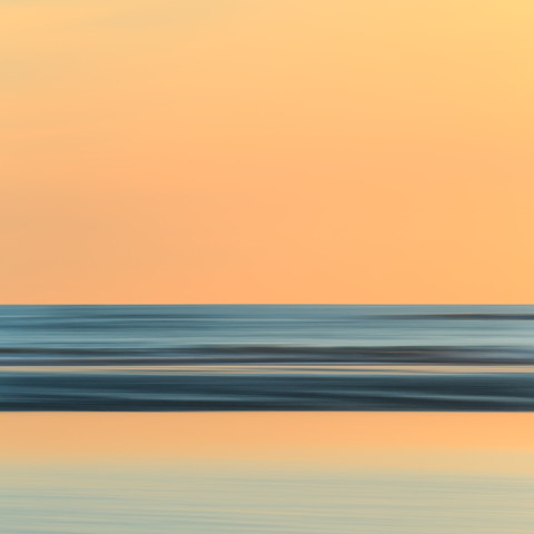 Sunrise at the North Sea - fotokunst von Holger Nimtz