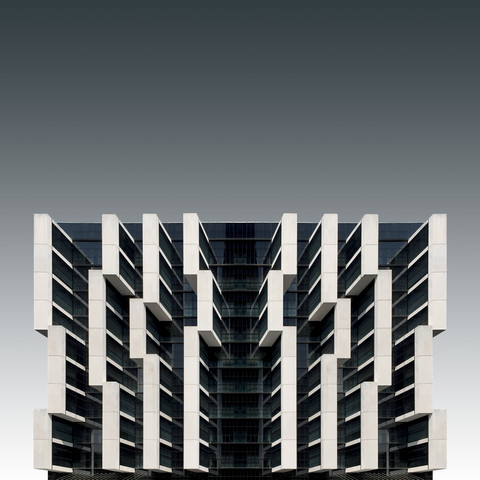 A parasitic architecture - fotokunst von Pau Iglesias