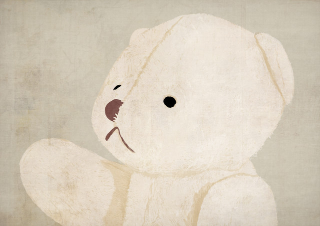 Teddy bear - fotokunst von Katherine Blower