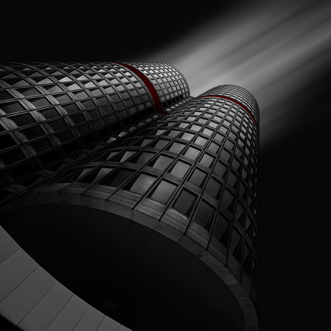 The dark knight - fotokunst von Richard Grando