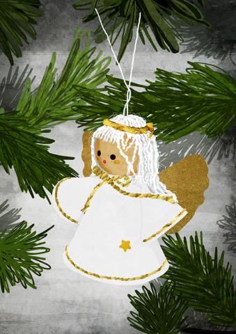 Christmas Angel - fotokunst von Katherine Blower
