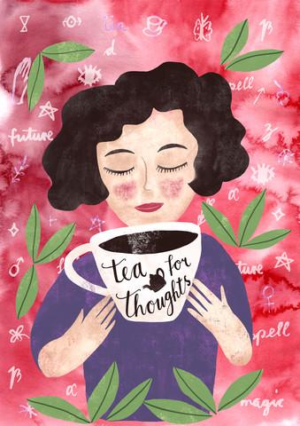 Tee! tea for thoughts - fotokunst von Constanze Guhr