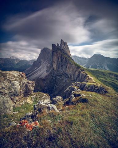 Geislerspitzen im Profil - fotokunst von Franz Sussbauer