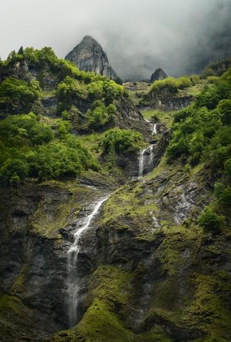 Strom von den Gipfeln - fotokunst von Alex Wesche