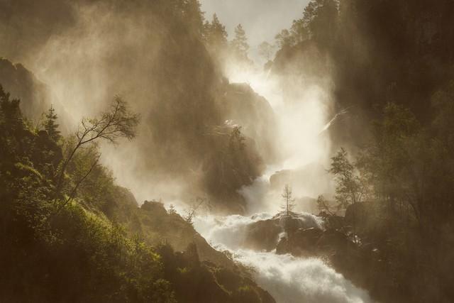 Lichtsymphonie - fotokunst von Alex Wesche