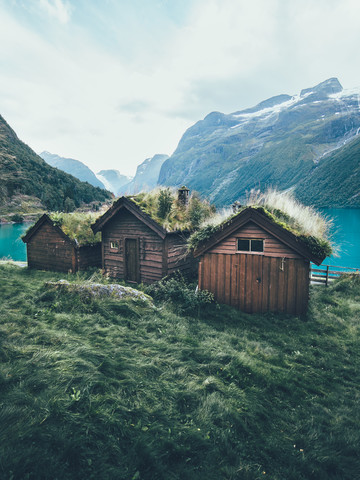 Cabins of the North - fotokunst von Lennart Pagel