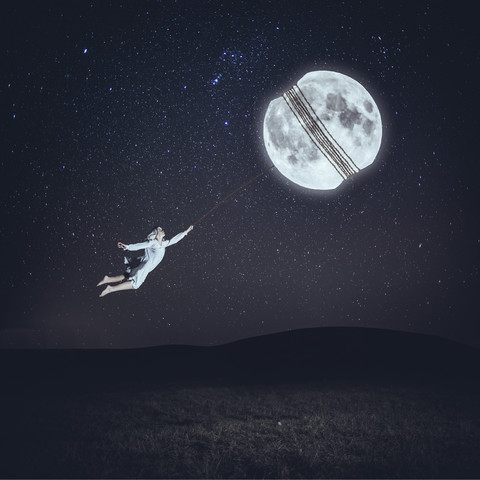 Shoot for the moon - fotokunst von Rova Fineart - Simone Betz