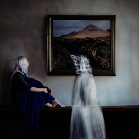 dreamfalls... - fotokunst von Rova Fineart - Simone Betz
