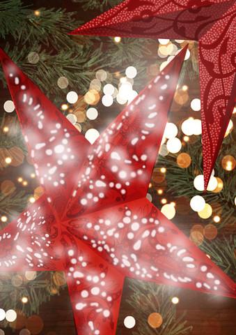 Christmas lights - fotokunst von Katherine Blower