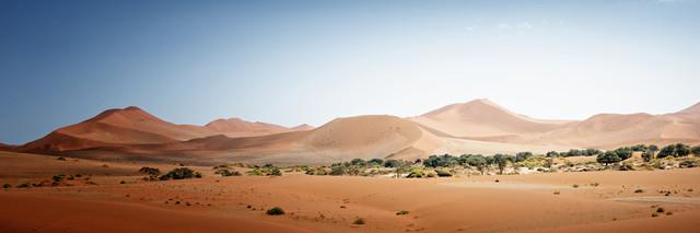 Sossusvlei, Namib Wüste - fotokunst von Norbert Gräf