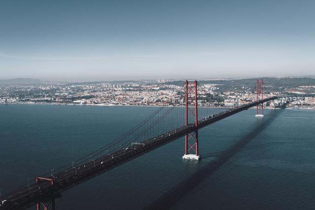 Build bridges not walls - fotokunst von Christian Seidenberg