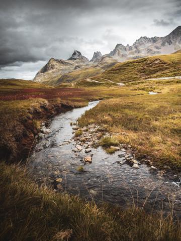 Verwall im Herbst - fotokunst von Roman Huber
