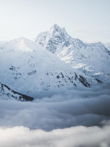 Patteriol am Arlberg - fotokunst von Roman Huber
