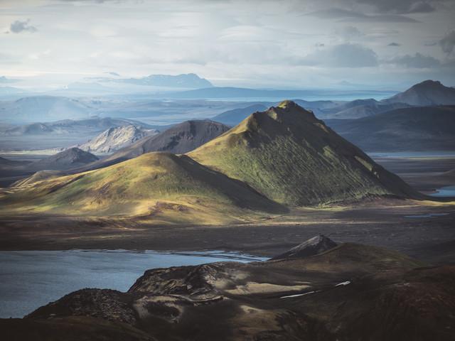 Islands Hochland - fotokunst von Roman Huber