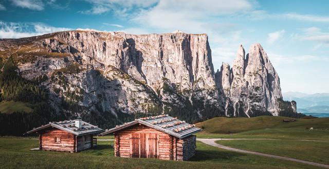 Seiser Alm II - fotokunst von Heiko Gerlicher