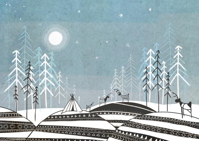 Sami Land - fotokunst von Katherine Blower