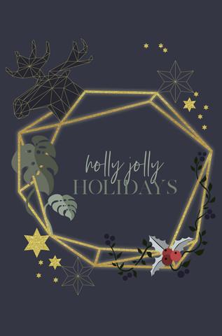 holly jolly - fotokunst von Sabrina Ziegenhorn