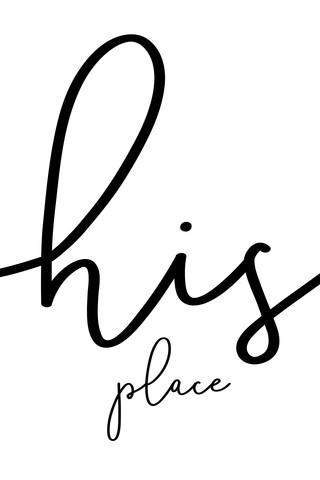 His place - Sein eigener Ort zum Glücklichsein - fotokunst von Melanie Viola