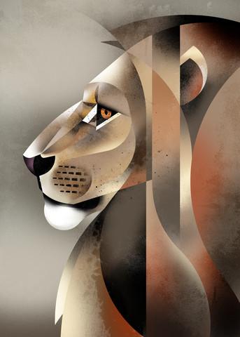 Löwe - fotokunst von Dieter Braun