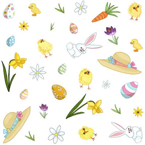 Easter Parade - fotokunst von Katherine Blower