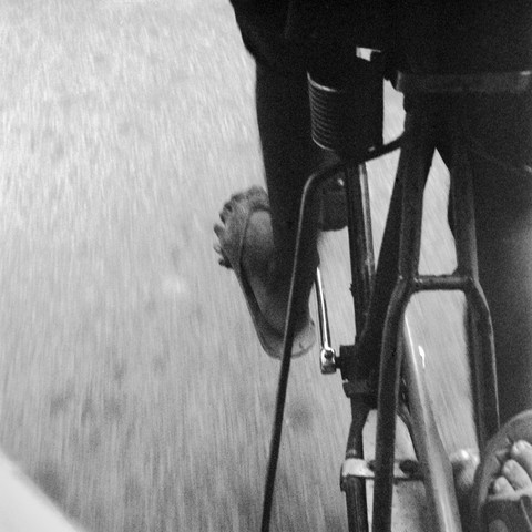 In der Fahrradrikscha  - fotokunst von Shantala Fels