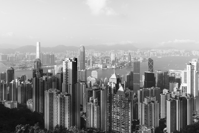 Hong Kong Skyline 2 - fotokunst von Pascal Deckarm