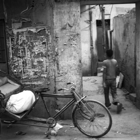 In Old Delhi - fotokunst von Shantala Fels