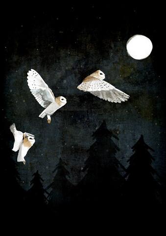 Night Ghosts - fotokunst von Katherine Blower