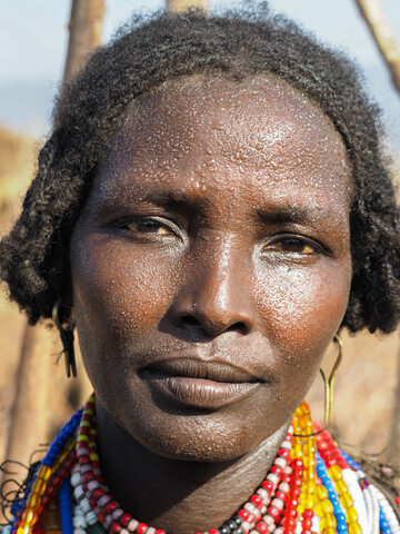 Woman from the Arbore Tribe - fotokunst von Phyllis Bauer