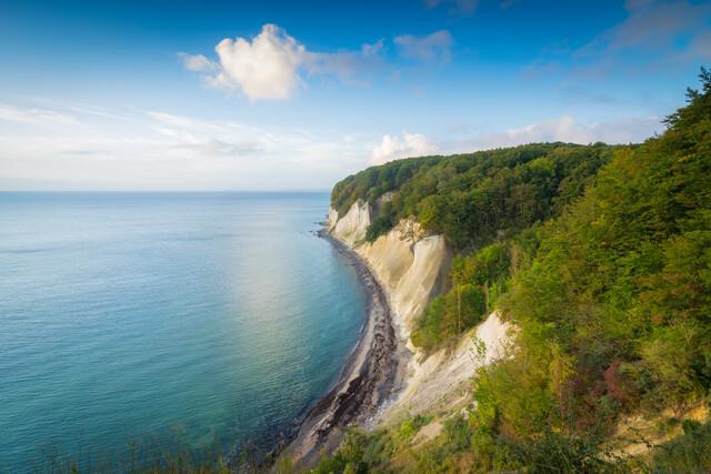 Kreideküste auf Insel Rügen - fotokunst von Martin Wasilewski