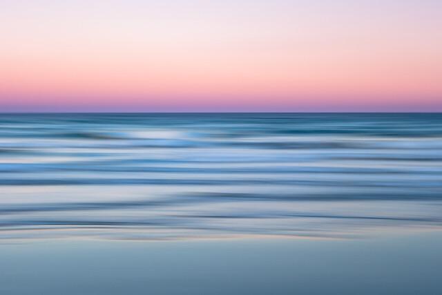peaceful sunset - fotokunst von Holger Nimtz