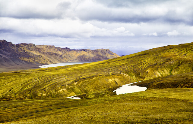 Somewhere in Iceland..... - fotokunst von Victoria Knobloch