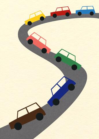 Traffic - fotokunst von Rosi Feist