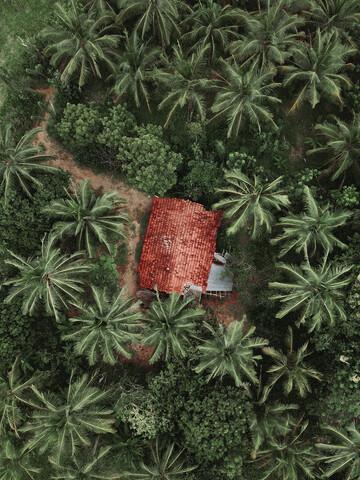 A Little House in Sri Lanka - fotokunst von Frida Berg