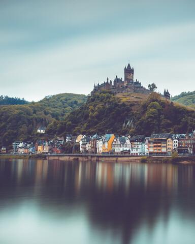Burg Cochem - fotokunst von Franz Sussbauer