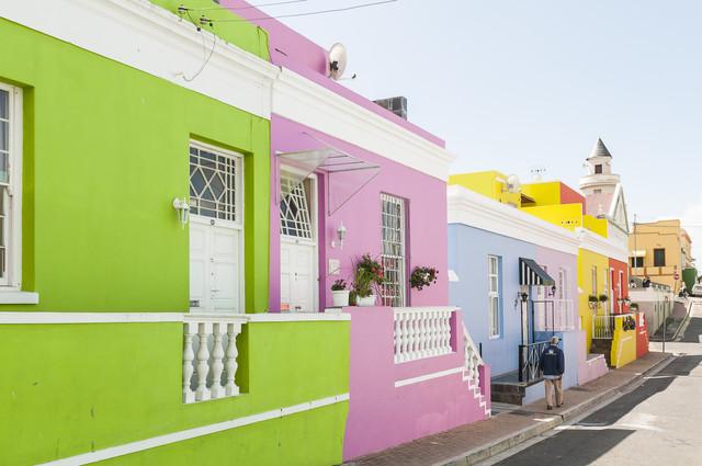 Colors of Boo-Kaap - fotokunst von Karin Schiel