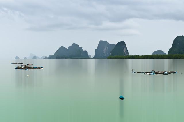 Phang-Nga-Bay - fotokunst von Karin Schiel