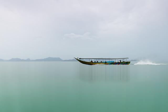 Phang-Nga-Bay II - fotokunst von Karin Schiel