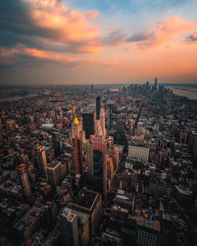 NYC skyline - fotokunst von Dimitri Luft