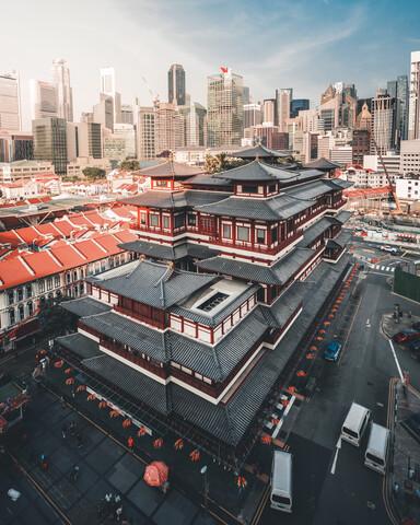 Singapore - fotokunst von Dimitri Luft