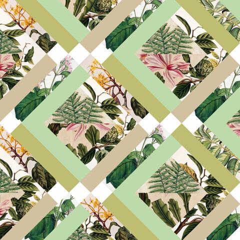 Cubed Vintage Botanicals - fotokunst von Bianca Green