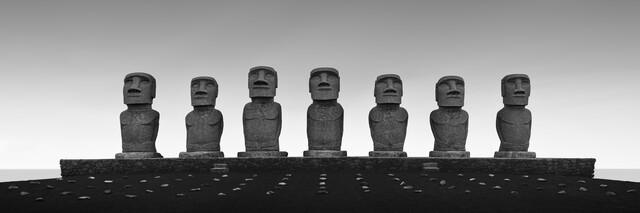 Ahu Akivi - fotokunst von Ronny Behnert