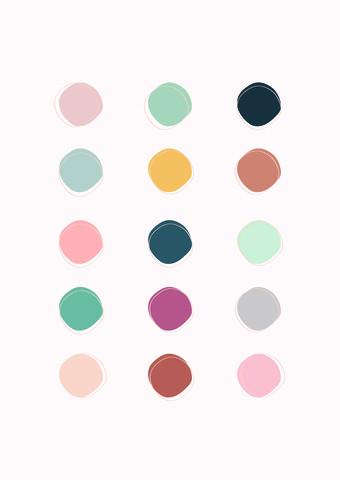 Colour Palette - fotokunst von Frankie Kerr-Dineen