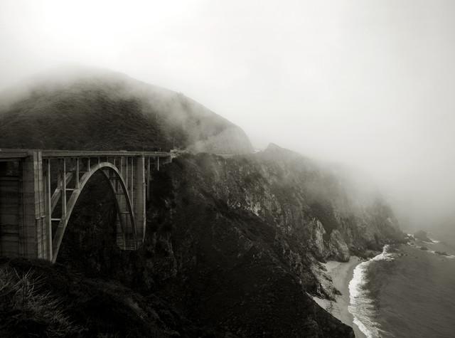 Pacific Highway - fotokunst von Aurica Voss