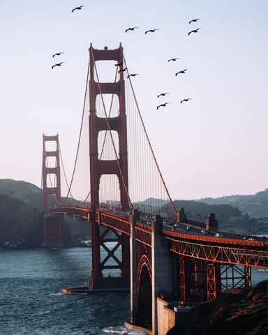 Golden Gate Bridge - fotokunst von André Alexander