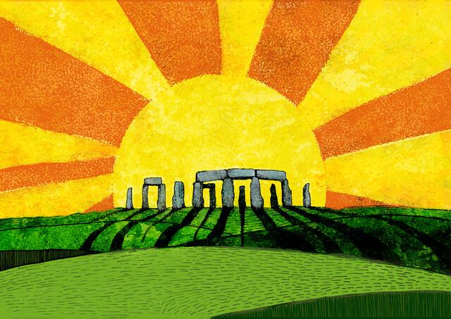 Rising Sun - fotokunst von Katherine Blower