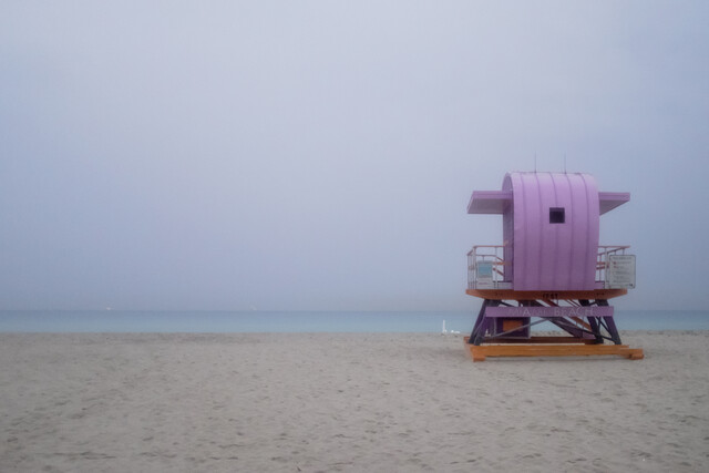 Miami South Beach Study 6 - fotokunst von Jeff Seltzer