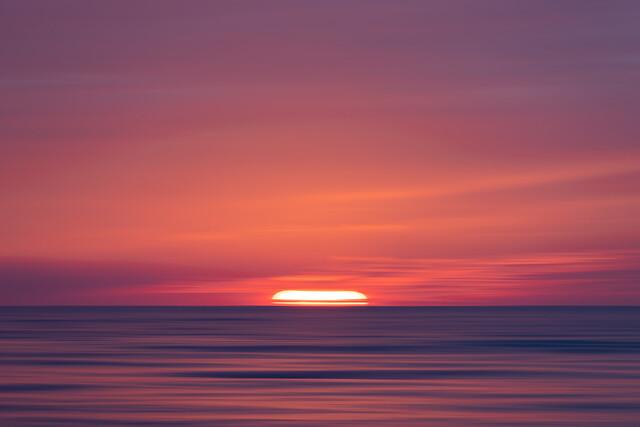 dreamlike sunset - fotokunst von Holger Nimtz