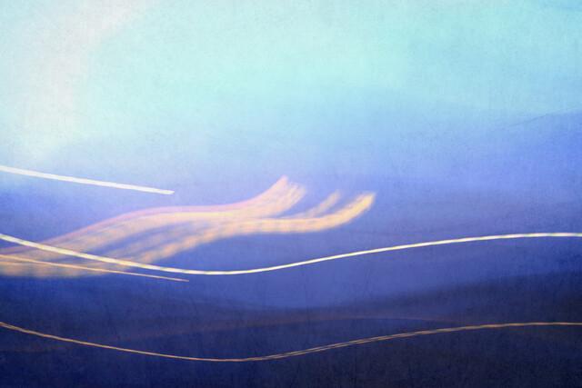Winterlichter I - fotokunst von Steffi Louis