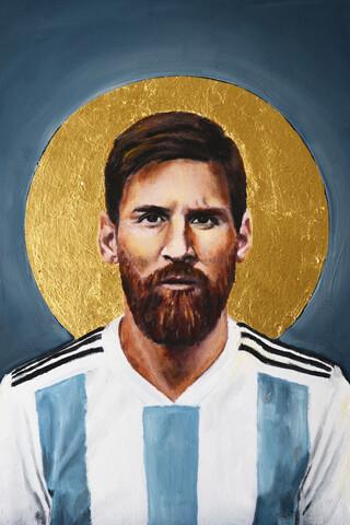 Lionel Messi - fotokunst von David Diehl